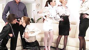 Mistress, Babe, Blonde, Blowjob, Brunette, Group