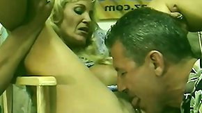HD Old women with saggy boobs and hairy cunts take it up their holes in retro porn