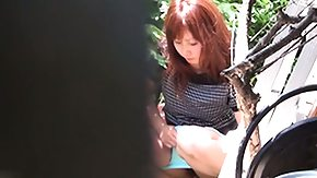 Voyeur, Asian, Fetish, High Definition, Outdoor, Public Flashing