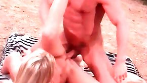 Beach Sex, Beach, Beach Sex, Blonde, Blowjob, Fingering