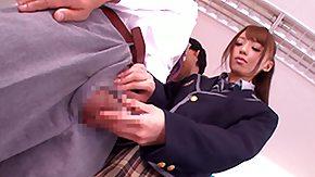 Japanese Teacher, Asian, Babe, Blowjob, Handjob, Japanese