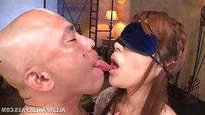 Blindfolded, Blindfolded, Japanese, Kissing, MILF, POV