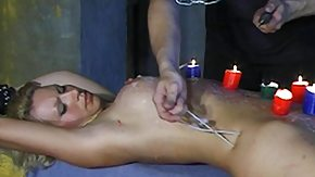 Wax High Definition sex Movies slave comes into candle wax poured on her