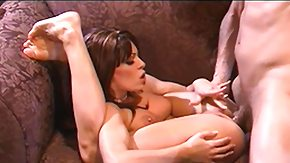 Flexible, Babe, Big Tits, Boobs, Brunette, Fingering