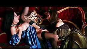 Paige Turnah, Ball Licking, Blowjob, Choking, Deepthroat, Double