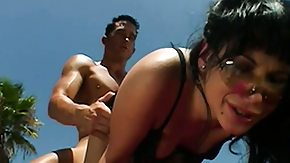 Free Shayna Knight HD porn videos Sexy Shayna Knight has a stud roughly pounding her tight ass outside