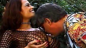 Cum Drinking, Big Tits, Boobs, Brunette, Cum Covered, Granny Big Tits
