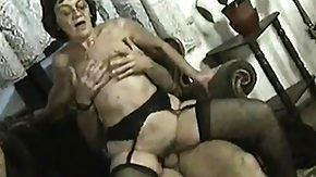 Mature Orgy, Blonde, Brunette, Facial, Fucking, Granny Orgy