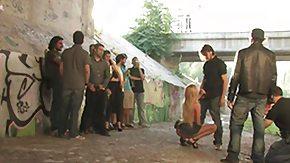 Donna, Babe, BDSM, Blonde, Blowjob, Humiliation