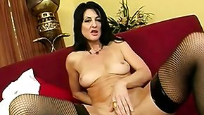 Free Lake Russell HD porn Wild cougar amid black stockings Lake Russell has a taut pussy yearning for a hard cock