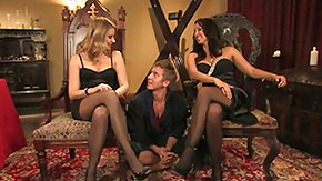 Threesome, BDSM, Blonde, Femdom, FFM, Group