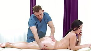 Massage HD tube dirty masseur strikes another hottie
