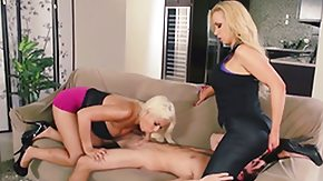 Nikki Benz, Ball Licking, Blowbang, Blowjob, Choking, Deepthroat