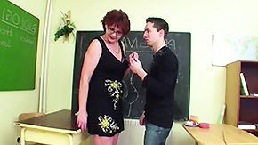 Free German Old and Young HD porn German Milf Counselor show infant boy how to get pregnant
