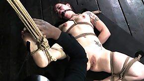 Spanking, BDSM, Big Tits, Boobs, Bound, Brunette