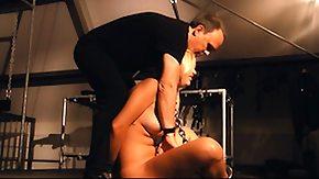 Spanking, BDSM, Blonde, Blowjob, Bondage, Bound