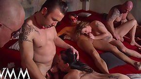 German Orgy, Amateur, Big Tits, Blonde, Blowjob, Cumshot