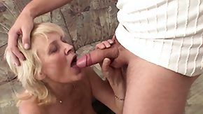 German Mature, 18 19 Teens, Barely Legal, Blonde, Blowjob, Experienced