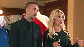 HD Nikki Benz tube Keiran Lee plays hide the salamy