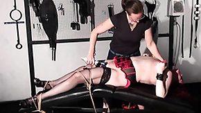 Spanking HD Sex Tube Lesbian bdsm of newbie slave girl Alex