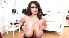 Titfuck, Big Tits, Boobs, Brunette, High Definition, Jizz