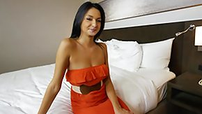 Hotel, Bed, Bedroom, Blowjob, Brunette, Cash