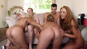 Bridgette B, 3some, Ball Licking, Banging, Bed, Big Ass