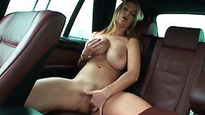 Taxi, Babe, Big Tits, Blonde, Boobs, Car