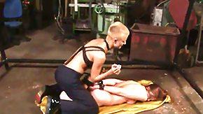 Basement, Banging, Basement, BDSM, Blindfolded, Blonde
