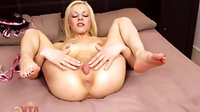 Scottish High Definition sex Movies Blonde April Paisley with small boobs and bald cunt