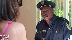 Jail, Babe, Big Cock, Brunette, Club, Cumshot