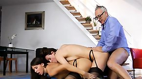 UK, 18 19 Teens, 3some, Barely Legal, Bend Over, Blowjob