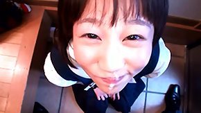 Japanese Teen, Asian, Asian Teen, Blowjob, Facial, High Definition