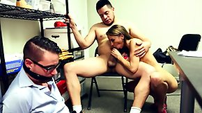 Cheating, Adultery, Bend Over, Blonde, Blowjob, Boobs