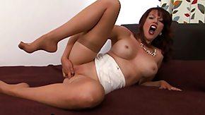 Nylon, Big Tits, Boobs, Fingering, High Definition, Leggings