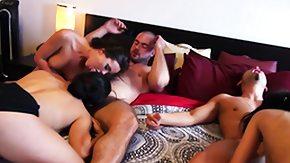 Angel Del Rey, Blowjob, Fucking, Group, Hardcore, High Definition