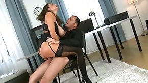 Free Corset HD porn videos Jane is a burning hot dark brown with big boobs. She is at the office having a business meeting with this guy. You can