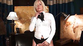 Nylon, Blonde, High Definition, Leggings, Masturbation, Mature