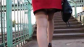 Upskirt, Amateur, Feet, Fetish, High Definition, Leggings