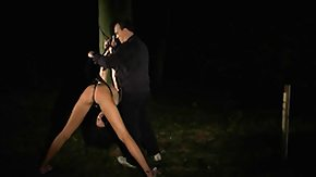 Free Anorexic HD porn Slender tall slave au naturel to heavy submission outside