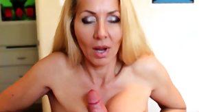 Blonde, Big Tits, Blonde, Boobs, Granny Big Tits, Handjob
