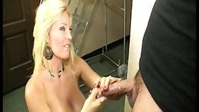 Blonde, Big Cock, Big Tits, Blonde, Boobs, Handjob