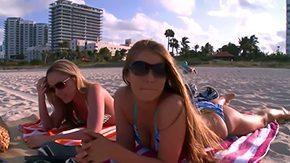 Trisha Uptown, Beach, Erotic, Glamour, High Definition, Kissing