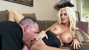 Rhyse Richards, American, Ball Licking, Banging, Big Cock, Big Natural Tits