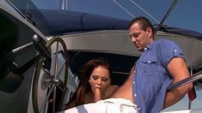 Christina Bella, Banging, Beach, Bend Over, Blowjob, Boat