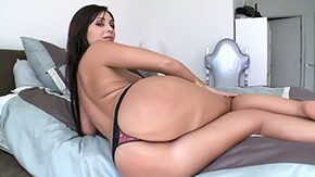 Lady, Ass, Ass Licking, Ass Worship, Bed, Big Ass