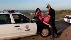 Free Police Girl HD porn A handful of young chicks Angelina Valintine Roxy Jezel are having outdoors getting laid with police officer Jordan Ahs These bitches are quite vilifying