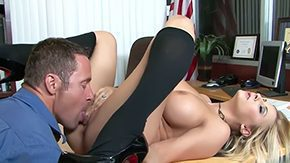 Jack Lawrence, Banging, Bed, Bend Over, Big Natural Tits, Big Nipples