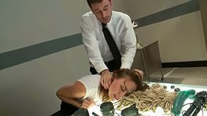 Office, American, Babe, Bend Over, Blowjob, Classy