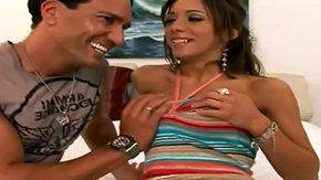 Venezuelan, Adorable, Blowjob, Brunette, Corset, Crotchless